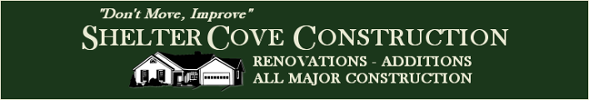 Shelter Cove Construction, Logo
